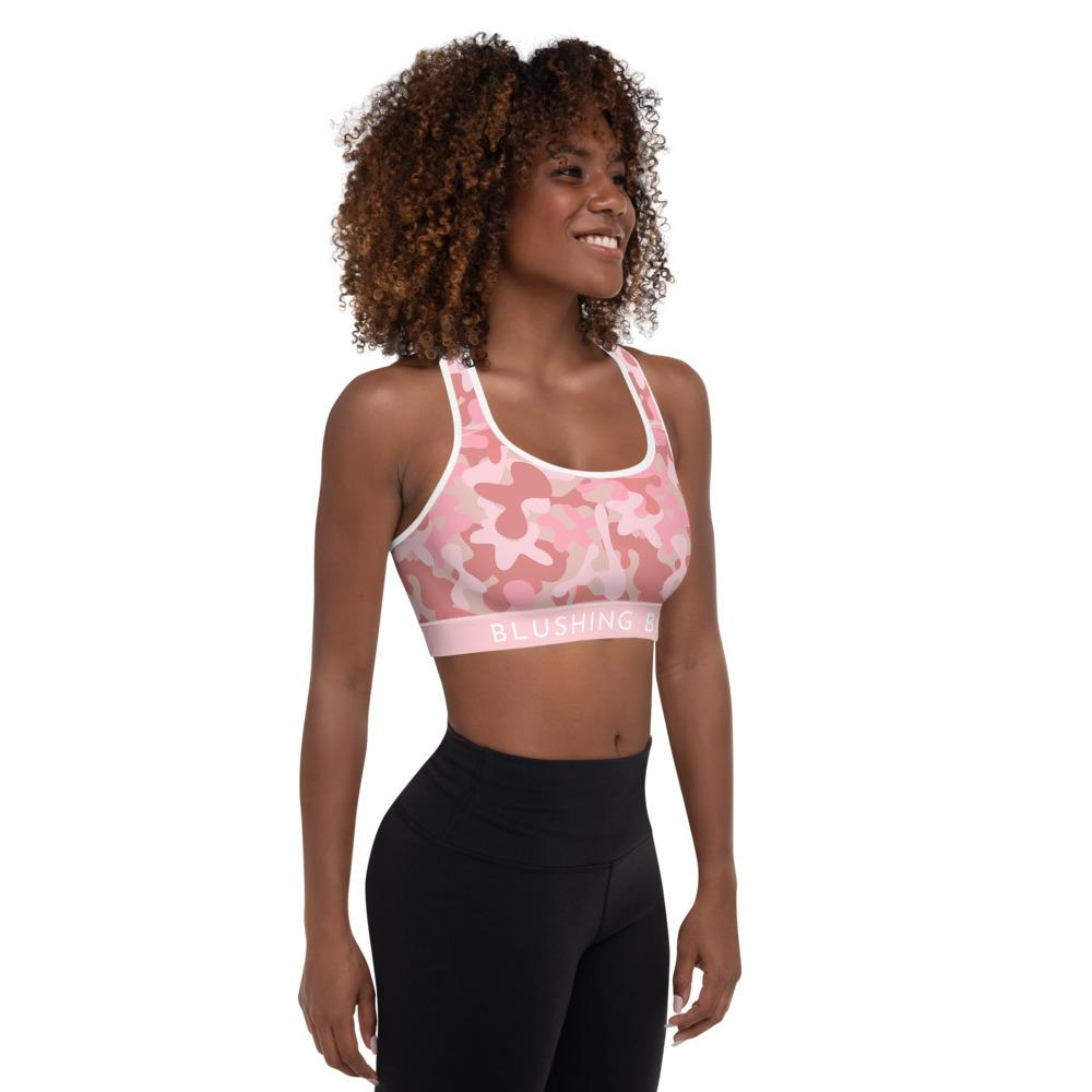 sportsbra with pink camouflage