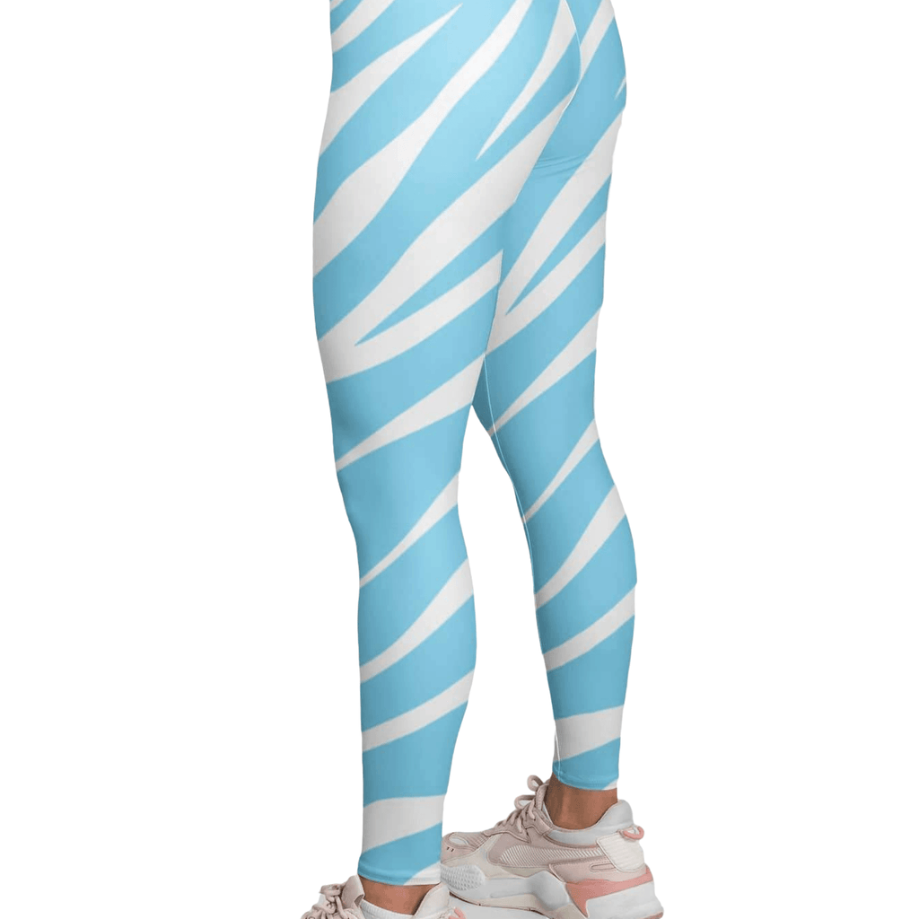Tiger Print Yoga Leggings for women