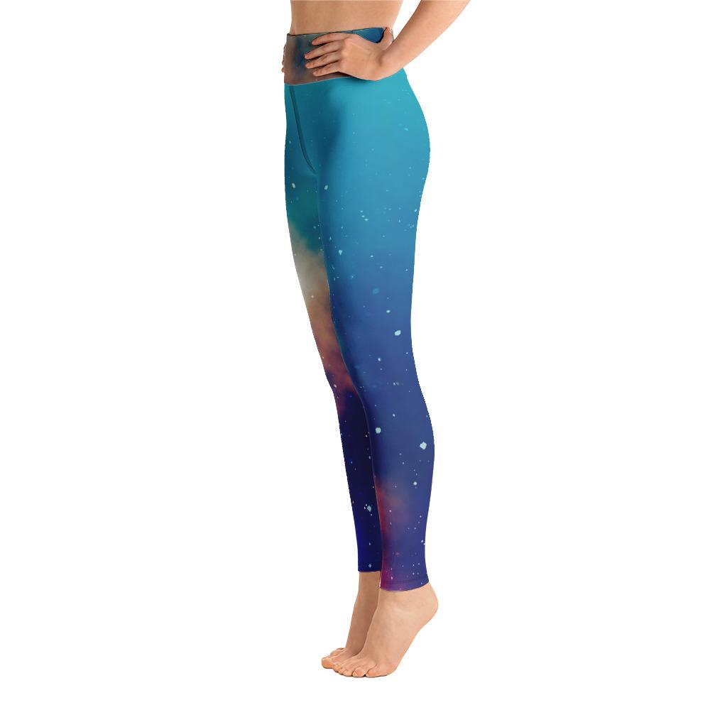 Galaxy Leggings with the Stars