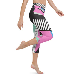Capri Leggings - High Waistband