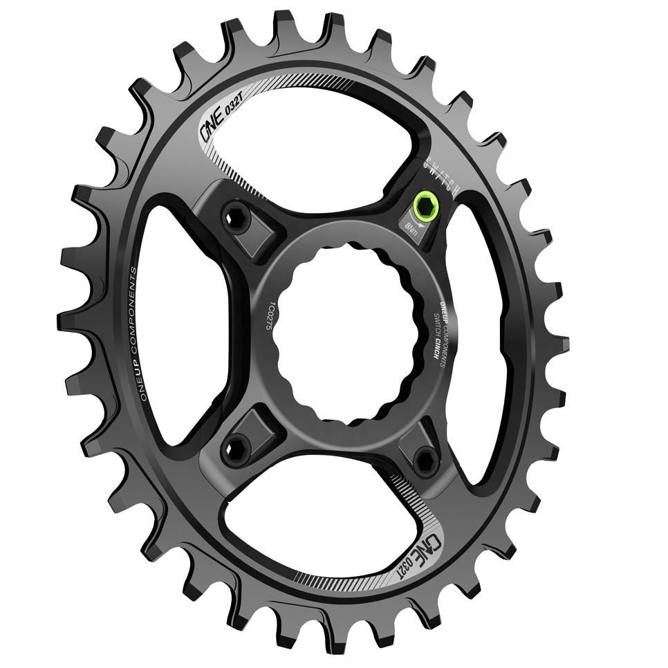 OneUp-Components-Switch-Chainring-32T-Oval-Traction-Race-Face-Cinch-Black-Iso-966