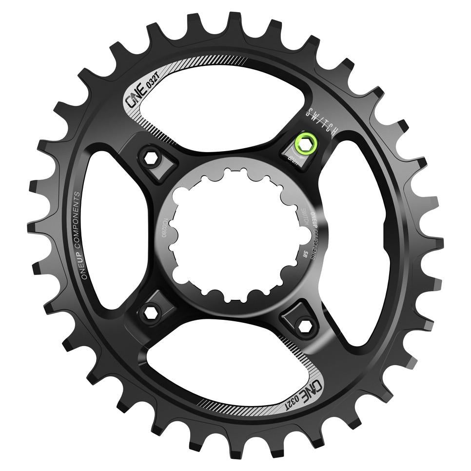 OneUp-Components-Switch-Chainring-32T-Oval-Traction-Sram-GXP-Black-966