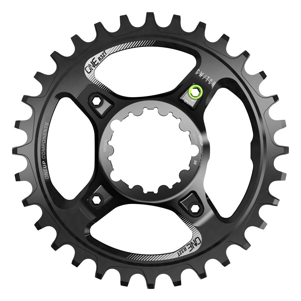 OneUp-Components-Switch-Chainring-32T-Round-Sram-GXP-Black-966