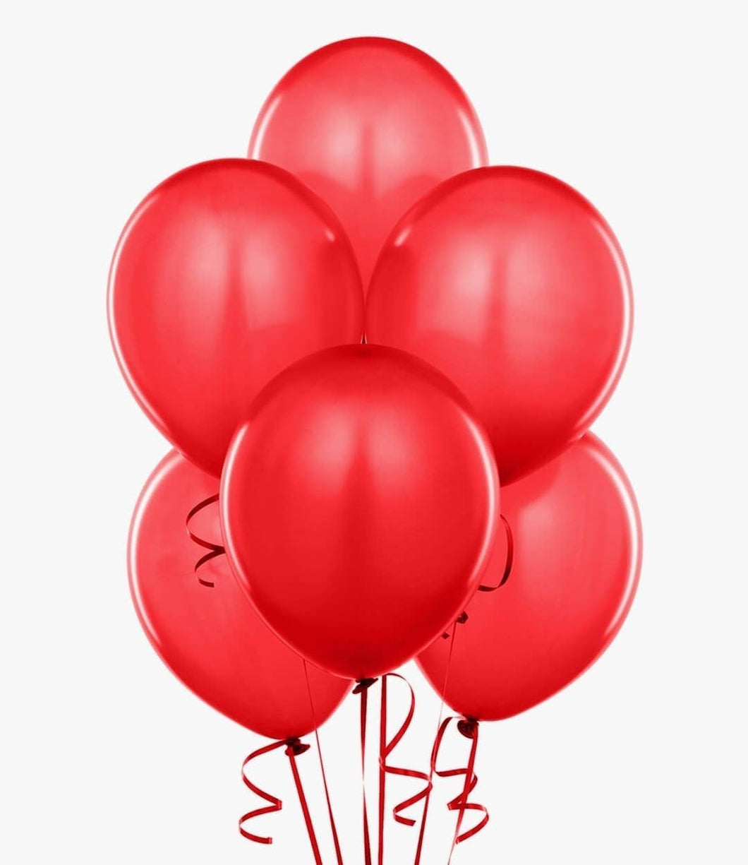Red Latex Balloon Bouquet