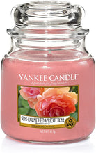 Load image into Gallery viewer, Yankee Candle Sun-Drenched Apricot Rose