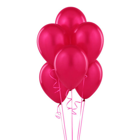 Pink Latex Helium Balloon Bouquet