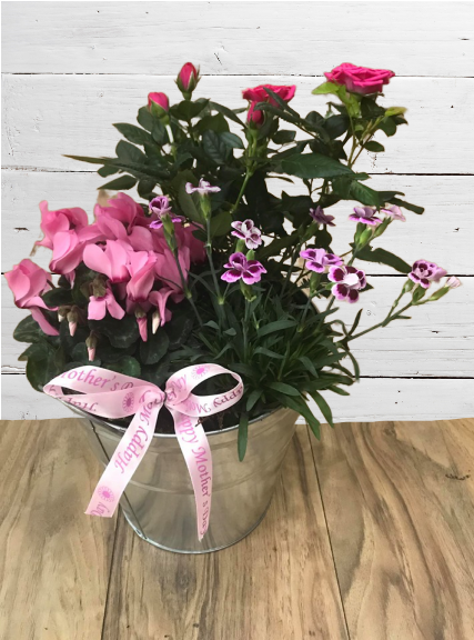Mother's Day Planter with bow