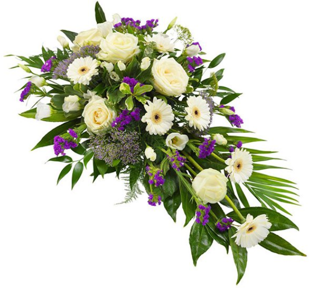 Purple & White Spray - Florist Design