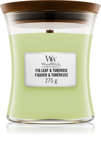 Woodwick Fig Leaf & Tuberose