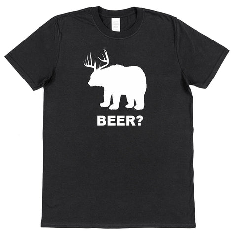 Bear Deer Beer? St Patrick's Day T-Shirt - Click My Clobber