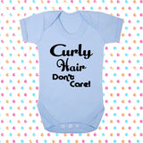 Curly Hair Don't Care! Bodysuit - Click My Clobber