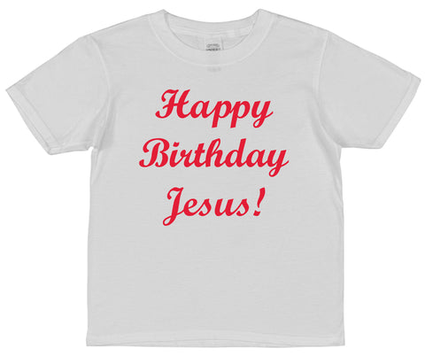 Happy Birthday Jesus Christmas T-Shirt (Mens, Ladies or Kids) - Click My Clobber