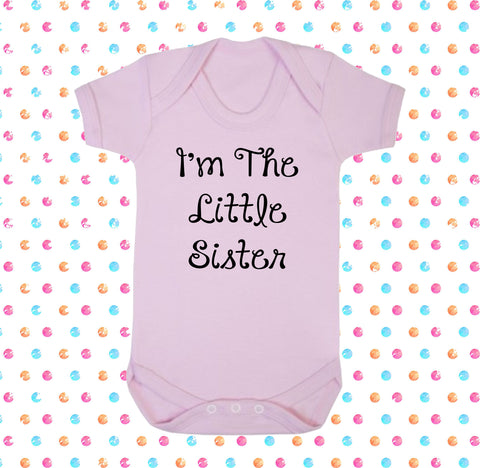I'm The Little Sister Bodysuit - Click My Clobber