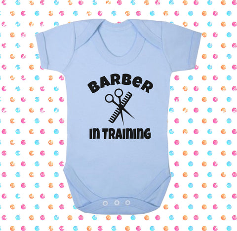 Barber In Training Bodysuit - Click My Clobber