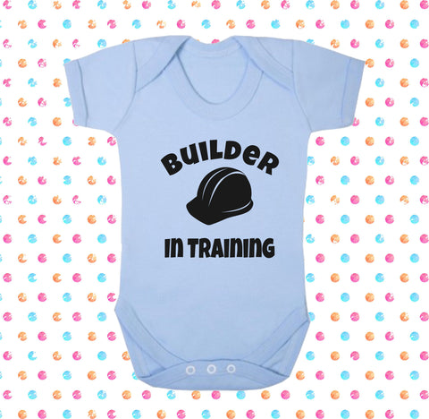 Builder In Training Bodysuit - Click My Clobber