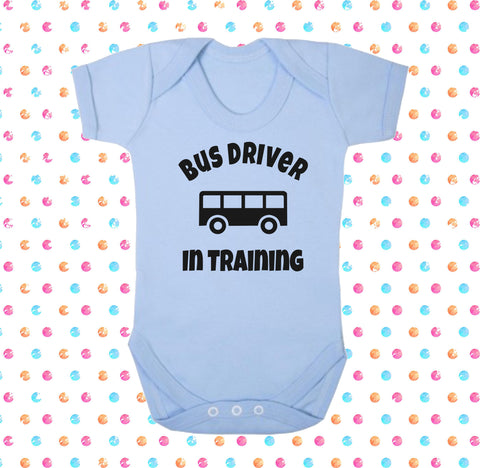 Bus Driver In Training Bodysuit - Click My Clobber