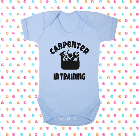 Carpenter In Training Bodysuit - Click My Clobber