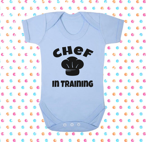 Chef In Training Bodysuit - Click My Clobber