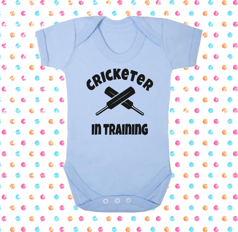 Cricketer In Training Bodysuit - Click My Clobber