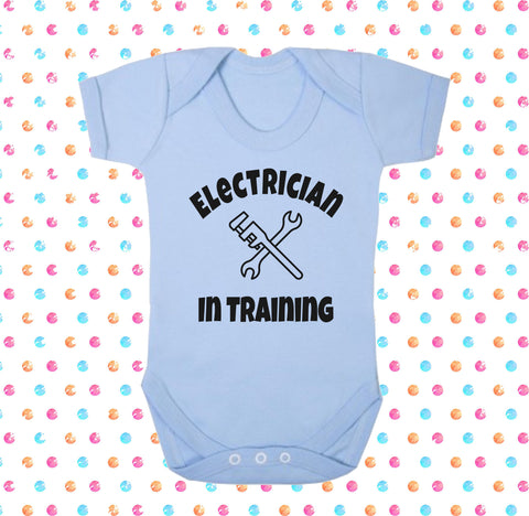 Electrician In Training Bodysuit - Click My Clobber