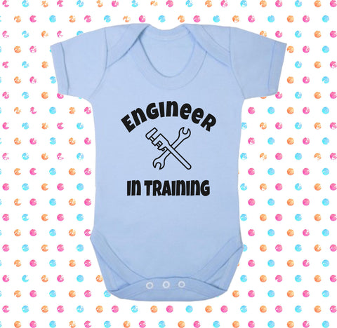 Engineer In Training Bodysuit - Click My Clobber