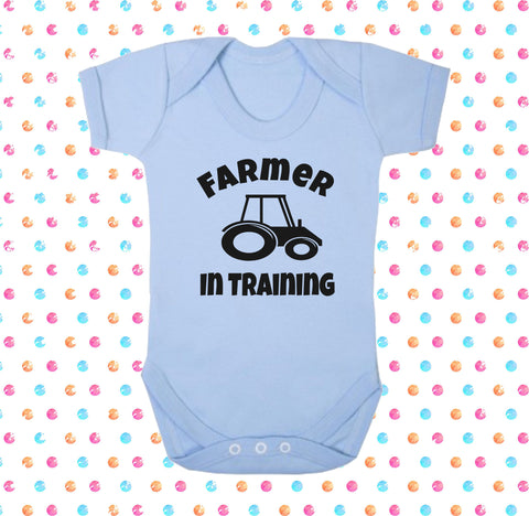Farmer In Training Bodysuit - Click My Clobber