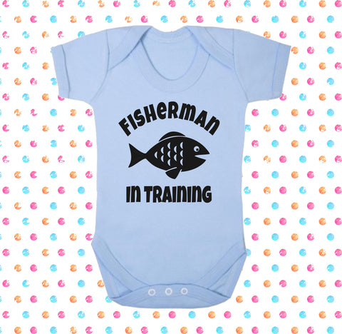 Fisherman In Training Bodysuit - Click My Clobber