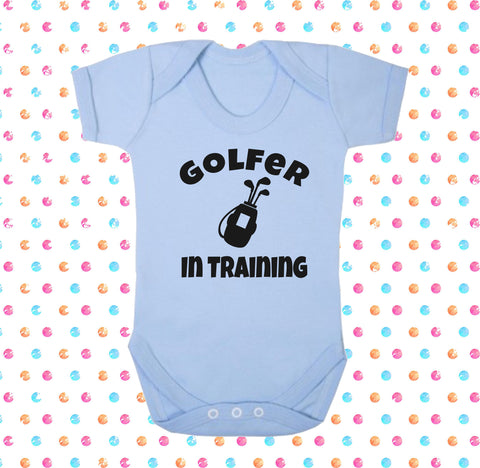 Golfer In Training Bodysuit - Click My Clobber