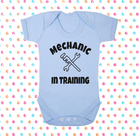 Mechanic In Training Bodysuit - Click My Clobber