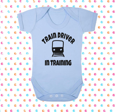 Train Driver In Training Bodysuit - Click My Clobber