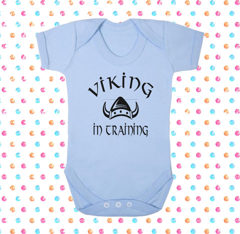 Viking In Training Bodysuit - Click My Clobber