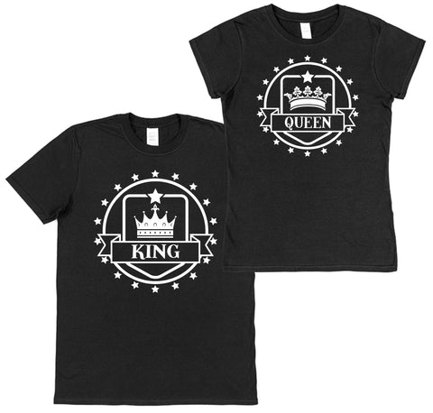 King & Queen Set of 2 T-Shirts