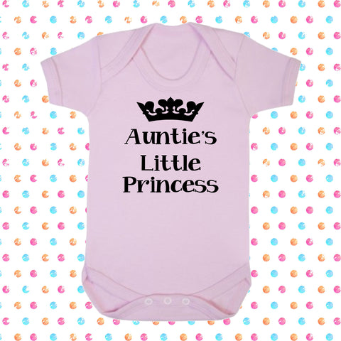 Aunties Little Princess Bodysuit - Click My Clobber