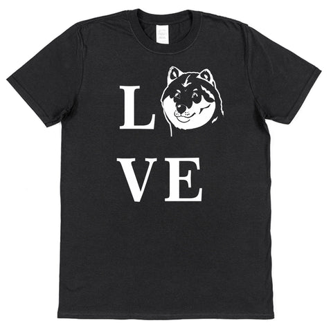 Love Akita T-Shirt (Mens or Ladies) - Click My Clobber