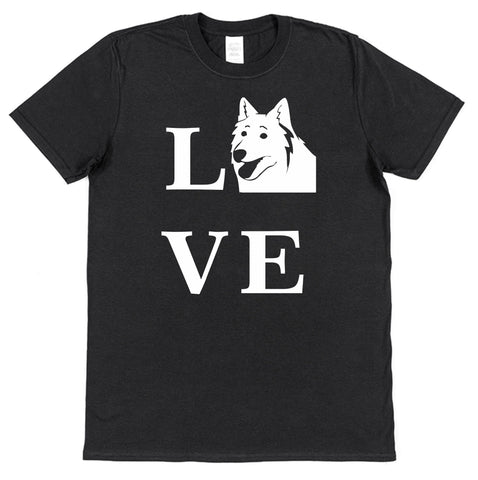 Love Samoyed Dog T-Shirt (Mens or Ladies) - Click My Clobber