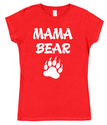 Mama Bear Womens T-Shirt - Click My Clobber
