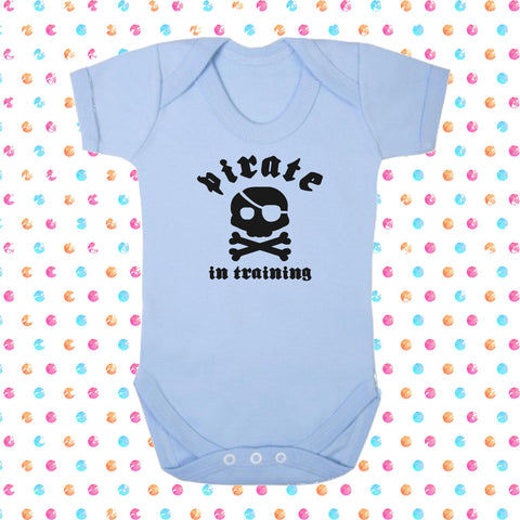 Pirate In Training Bodysuit - Click My Clobber