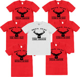 Stag Do T-Shirts with Personalisation Option