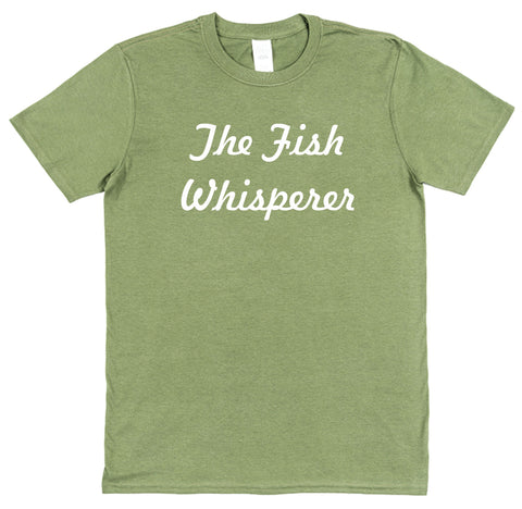 The Fish Whisperer Fishing T-Shirt - Click My Clobber