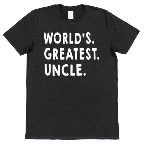 World's Greatest Uncle T-Shirt - Click My Clobber
