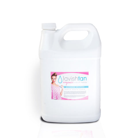 1 Gallon - EXPRESS Spray Tan Solution-Lavish Tan ™ - Organic Spray Tanning Solutions