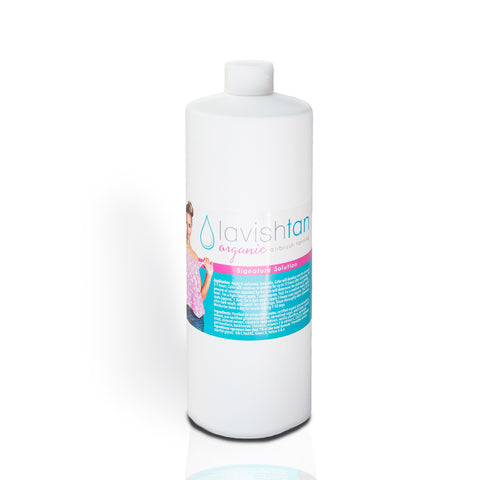 Spray Tanning Solutions - Signature Organic Customizable Brown Sugar Formula by Lavish Tan