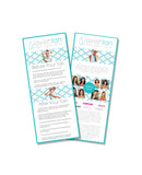 Promotional Cards - Prep & After Care-Lavish Tan ™ - Organic Spray Tanning Solutions