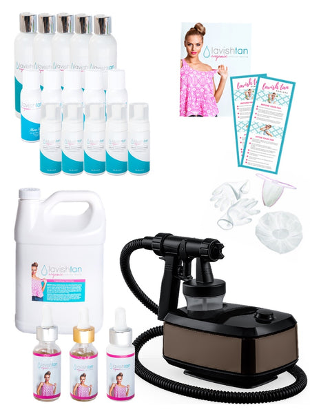 PLATINUM PACKAGE - Retail Line Salon Start-Up Kit