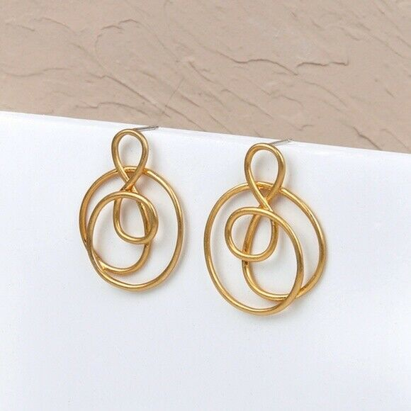 Madewell Treble Twist Earrings