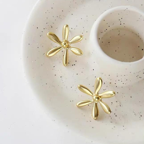 Madewell Floral Garden Stud Earrings