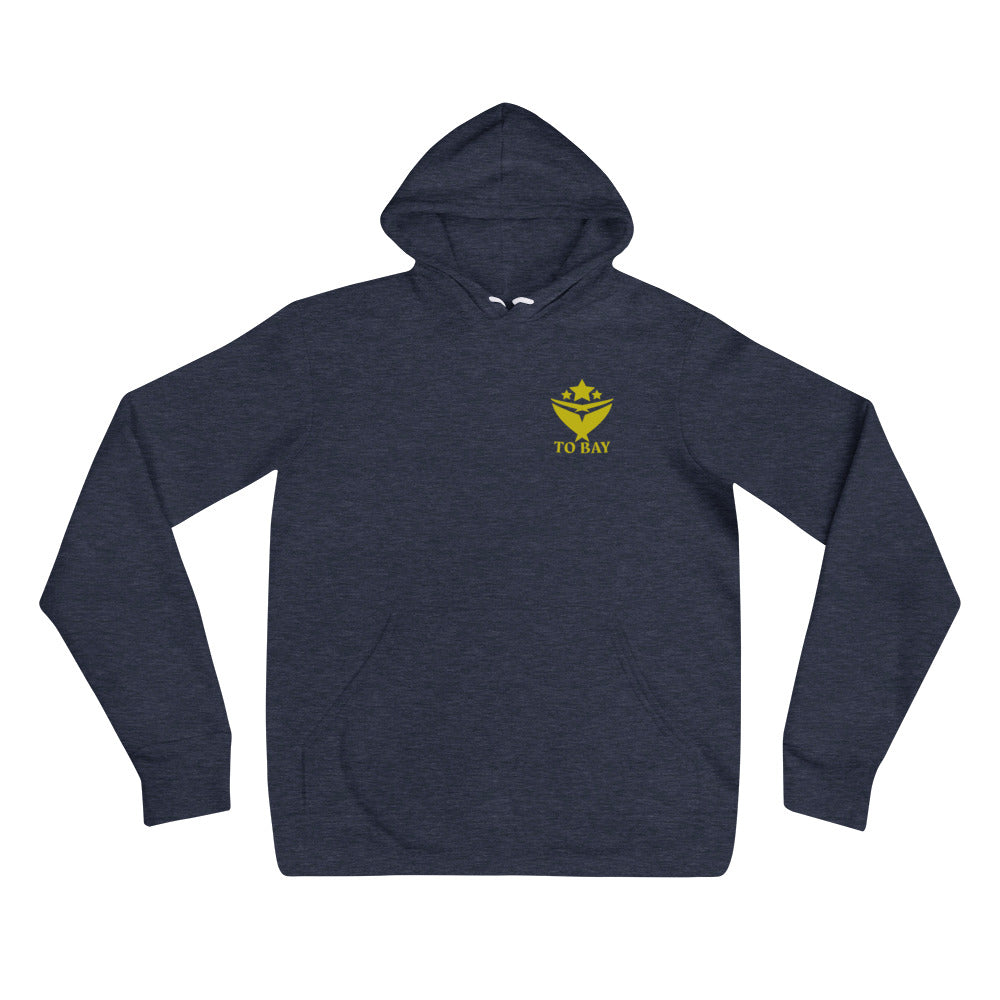 TO BAY Statement Hoodie Gold Logo (5 Colors)