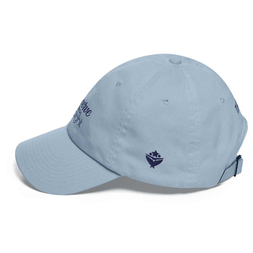 TO BAY NAVY LOGO Swerve Straight Dad hat (3 Colors) - TO BAY LLC