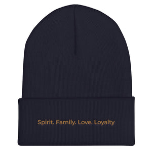 Spirit. Family. Love. Loyalty Beenie (3 Colors)