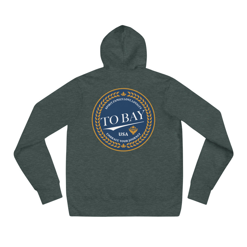 TO BAY Crest Hoodie (5 Colors)